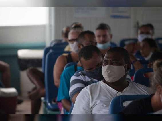 Brazil reports 87,822 new coronavirus cases, 2,131 deaths