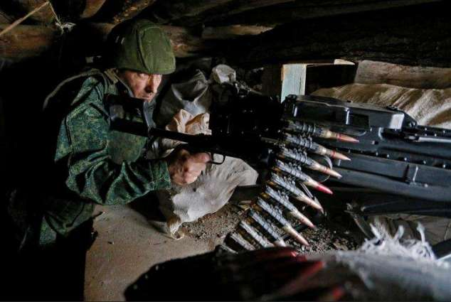 Shoigu Slams Ukraine for Provoking New Crisis in Donbas Ahead of Recent NATO Summit