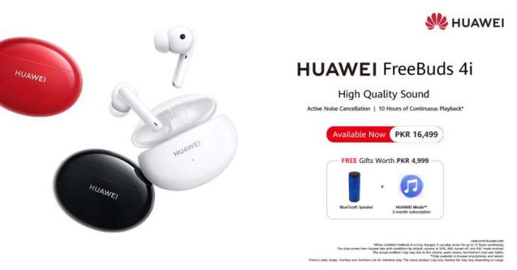 HUAWEI FreeBuds 4i: The must-have earphones for your music and calls