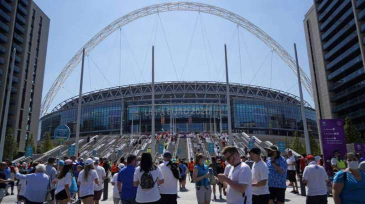 UK Eases COVID Rules to Let VIPs Attend Euro 2020 Semi-Finals, Final at Wembley