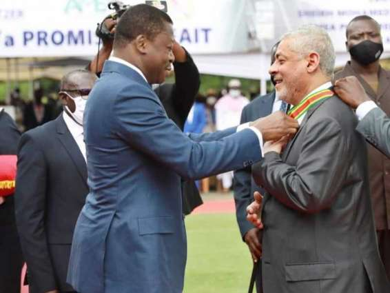 President of Togo awards 'Order of Mono' to Hussain Al Nowais