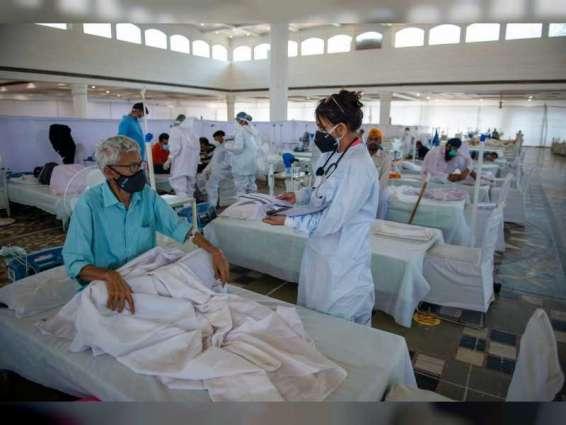"""الهند تسجل 54069 إصابة و1321 وفاة جديدة بـ """" كورونا"""""""