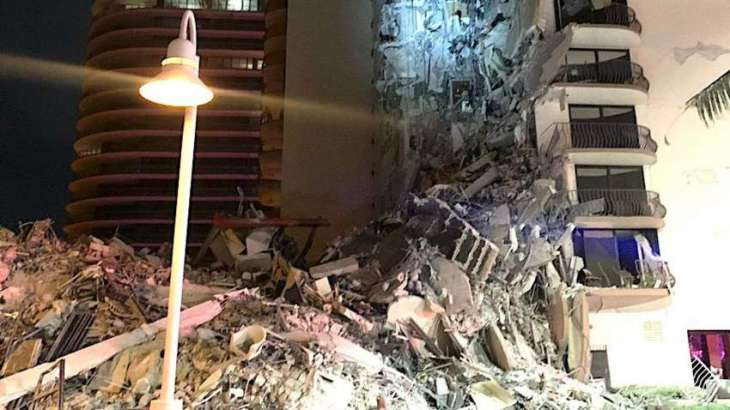 Multi-Story Condo Building Partially Collapses in Surfside, Florida - Police