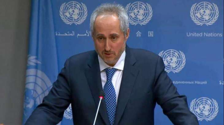 UN Wants to See Lowering of Tensions in Any Way Possible in Incident in Black Sea