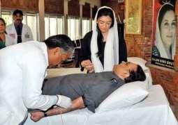 Asif Ali Zardari's health gradually improves