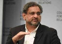 Pakistan cannot progress with NAB: Khaqan Abbasi