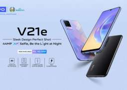 vivo V21e with 44MP Eye Auto-Focus Selfie Now Available in Pakistan