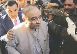 IHC allows bail to Zardari in New York flat case