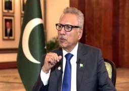 President lauds govt's decision to engage with dissident Balochs