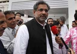 Shahid Khaqan Abbasi opposes NAB Chairman's extension