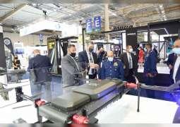 قائد القوات الجوية والدفاع الجوي يرأس وفد وزارة الدفاع في المعرض الدولي للدفاع والأمن DEFEA 2021 في اليونان