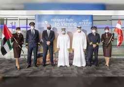 Etihad launches 65th destination with first flight to Vienna