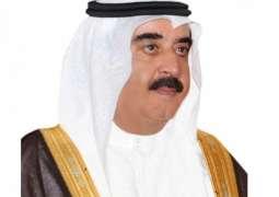 حاكم أم القيوين يهنئ رئيس الدولة ونائبة ومحمد بن زايد والحكام بعيد الأضحى