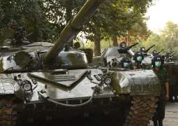 Russian Tanks in Tajikistan Move to Training Ground on Border With Afghanistan