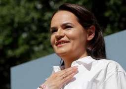 Tikhanovskaya Says She Hopes to Meet With Biden Despite No Meeting Being Scheduled