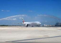 طيران الإمارات تدشن أول خدمة لها في ميامي الأمريكية