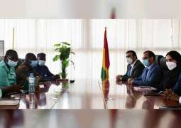 Guinean President receives General Inspector of UAE Ministry of Interior