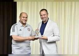 منتخبنا للكرة الشاطئية وصيف بطولة أوكرانيا الدولية الودية