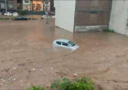 Urban flooding hits parts of Islamabad after heavy rains due to cloudburst