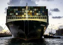 Ever Given Container Ship Arrives in Port of Rotterdam - Reports