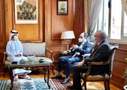 الملحق الثقافي لدى القاهرة يلتقى أمين المجلس الأعلى للجامعات في مصر