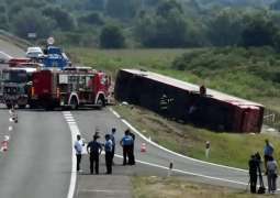 Eighteen People Injured in Tourist Bus Accident in Germany's East - Reports