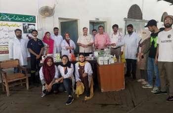 UVAS arranged free treatment camp for sacrificial animals
