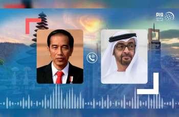 Mohamed bin Zayed, Indonesian President exchange Eid greetings