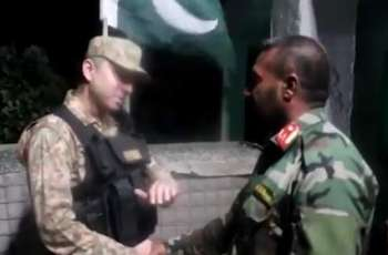 46 Afghan soldiers including five officers amicably returned to Kabul