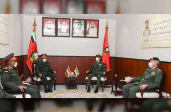 Commander of Joint Operations receives Chief of Staff of Sudanese Armed Forces