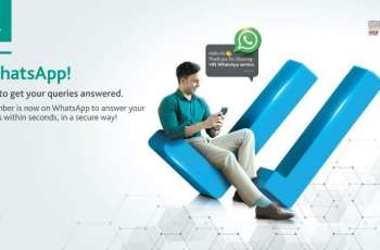 HBL launches WhatsApp Banking Services, powered by E Ocean