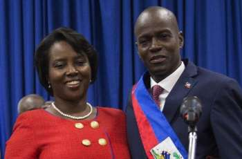 Widow of Assassinated Haitian President Moise Says Hitmen Thought She Was Dead - Reports
