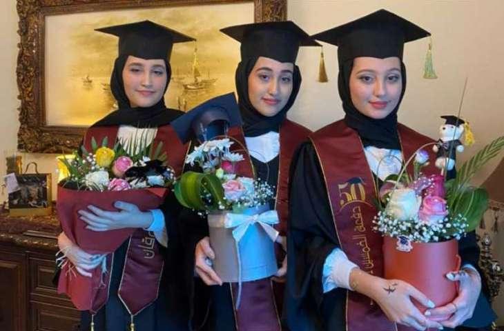 Humaid Al Nuaimi awards scholarships to outstanding Jordanian triplets