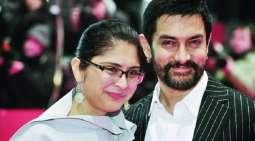 الممثل الھندي عامر خان و زوجتہ یعلنان طلاقھما