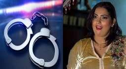 القبض علی الراقصة المغربیة بعد أن ھددت بذبح طفلتھا و دعت الی اغتصابھا