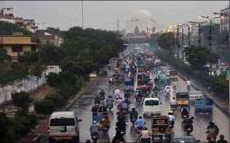 Karachi is likely to receive heavy rainfall with thunderstorm today