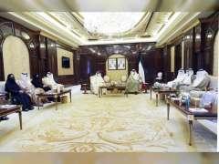 رئيس مجلس الوزراء الكويتي يستقبل وفد المجلس الوطني الاتحادي