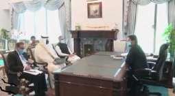 رئیس وزراء باکستان عمران خان یجتمع بسفیر السعودیة لدي اسلام آباد