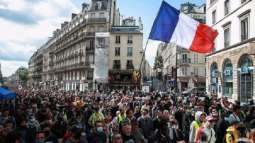 At Least 3 Police Officers Injured at Protests Against COVID-19 Passes in Paris - Reports