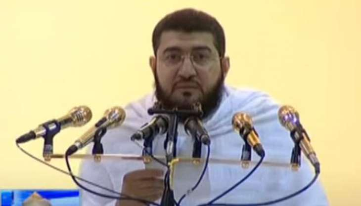 Hajj sermon: Prophet (PBUH) asked people not to visit areas affected by plague, says Saudi Imam