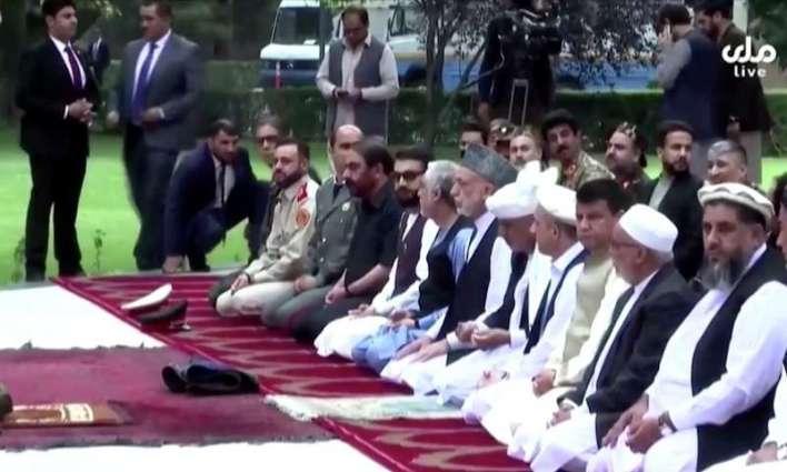 Rockets land near Kabul presidential palace during Eid prayers