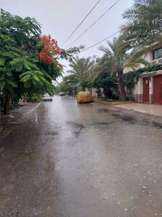 Karachi receives light rain, drizzling today