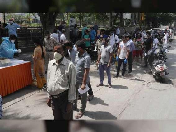 """الهند تسجل أكثر من 41 ألف إصابة جديدة بـ """"كورونا """""""