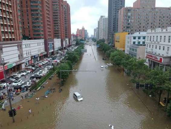 ارتفاع حصيلة الفيضانات في الصين إلى 33 قتيلا