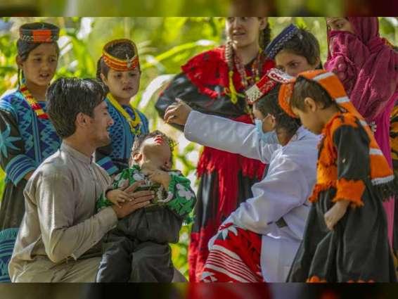 """""""الصحة العالمية"""" تشيد بمساهمات الإمارات السخية في جهود القضاء على شلل الأطفال في باكستان"""