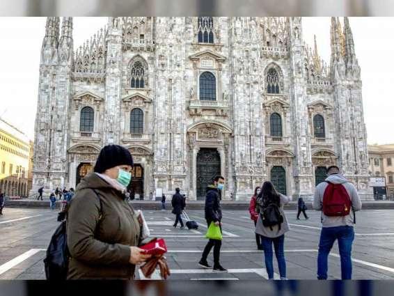 """إيطاليا تسجل 4743 إصابة جديدة بـ """" كورونا """" و7 وفيات"""