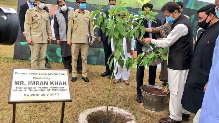 PM launches countrywide monsoon plantation drive in Islamabad