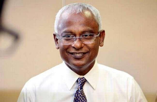 President of Maldives Urges People to Unite Against Radical Groups