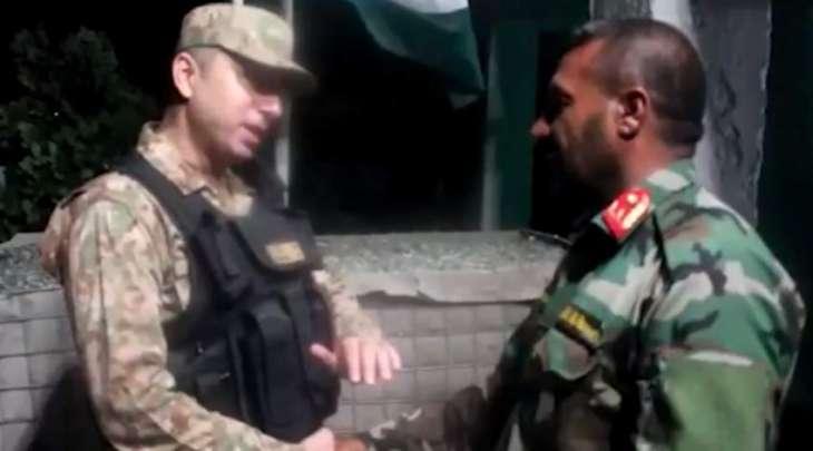 46 من رجال الجیش الأفغاني یلجأون الی باکستان عند معبر شترال الحدودي