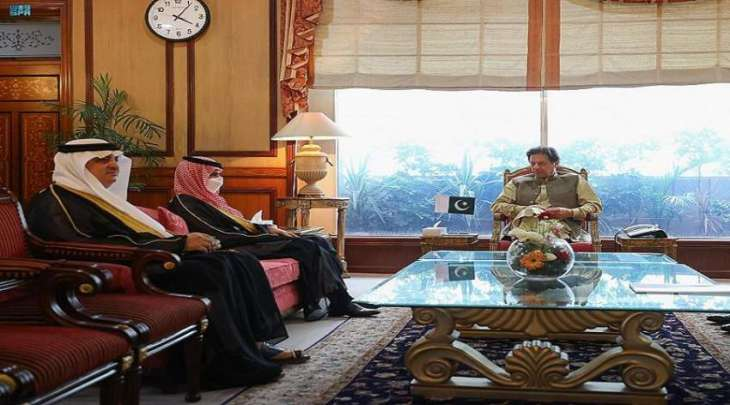 رئیس وزراء باکستان یستقبل وزیر خارجیة السعودیة الأمیر فیصل بن فرحان